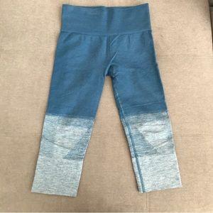 Lululemon seamless ombré crop leggings